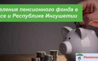 Отдел Отделения Пенсионного фонда — Назрань