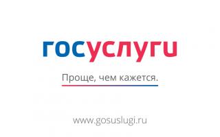 Сайт Госуслуг в г. Лесной : регистрация, кабинет, услуги