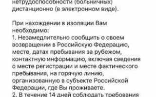 Приложение «Госуслуги СТОП Коронавирус»