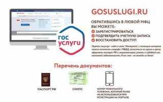 Как выполнить подтверждение своего аккаунта на портале Госуслуги