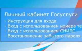 Госуслуги Прокопьевск личный кабинет — вход, регистрация