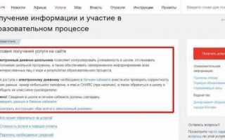 Дневник.ру через Госуслуги